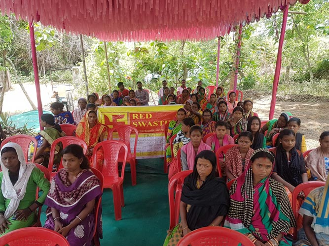 TRAINING FOR THE WOMEN OF UNSATISFIED FARMERS Of FANI affected
